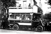 Hove Corporation Cedes Gearless Trolleybus