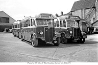 ETA 976 Royal Blue WNOC Coach 1050 AEC Regal Mumford JKM 457 M&DT