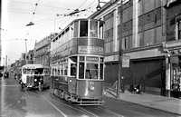 AMce 56-43. Southend. Tram 58 + Bus GN 7269.