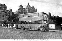 EGPM 65-44 SC xxxx Jxx SMT Leyland TD1 leyland Pictured on Waverley Bridge in Edinburgh, this unidentified Leyland TD1 was built in 1929 and is either from the first batch of 27 with Leyland L27/24RO