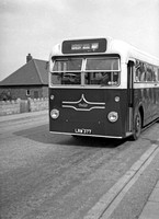 LRW 377  on hire to Birmingham City Transport