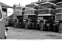 "ACS 859/ACS 856 Crosville M562/M560 ""Leyland TD7 Northern Counties/Pickering bodywork respectively at Chester"""
